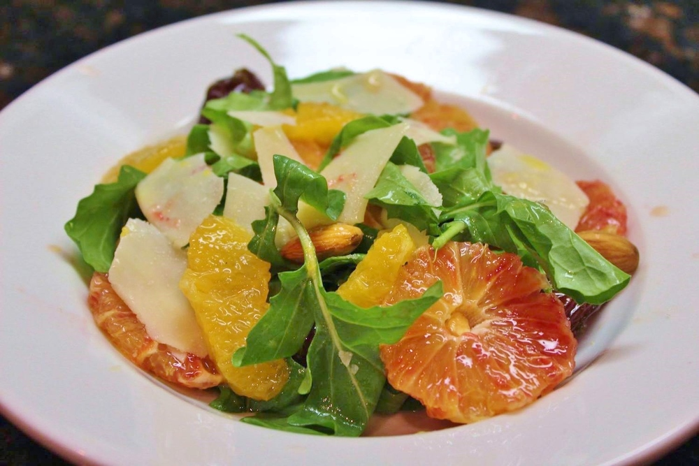 Lucques blood orange salad