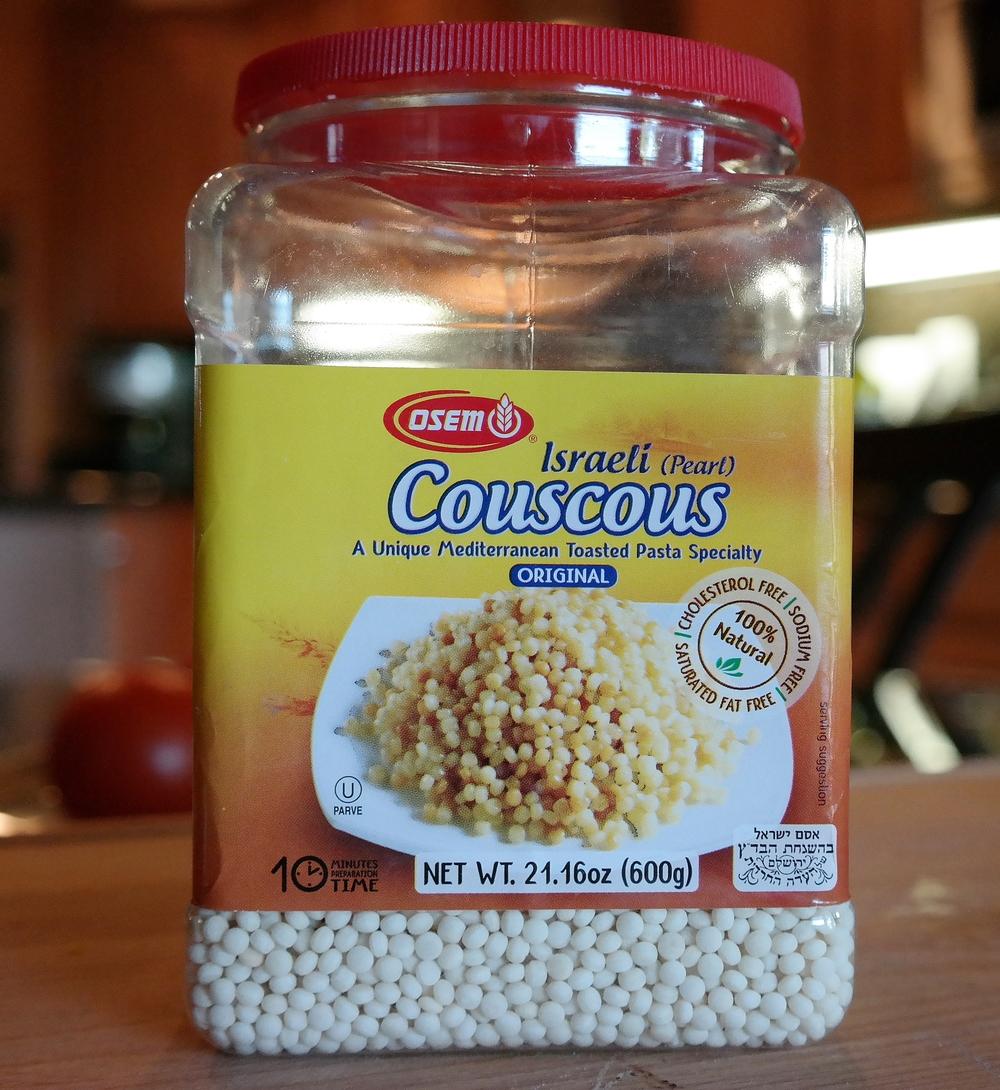 Israeli (pearl) couscous