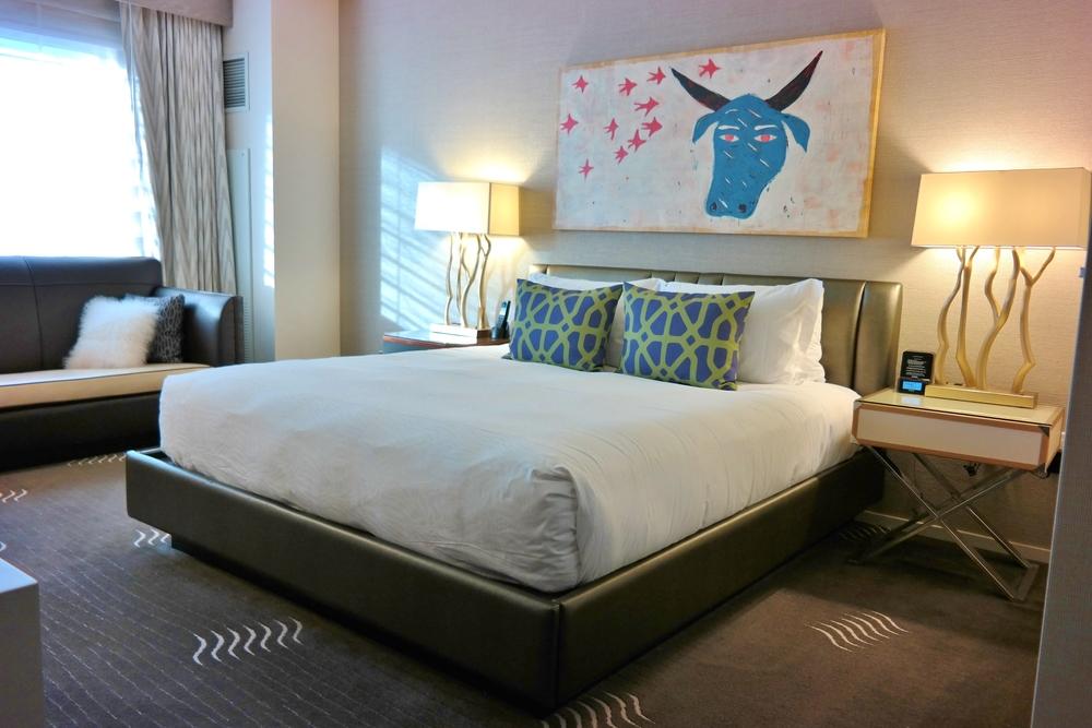 Hotel Palomar room