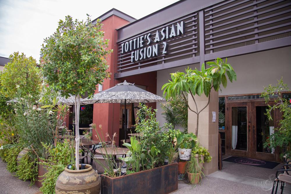 Tottie's Asian Fusion 2 patio