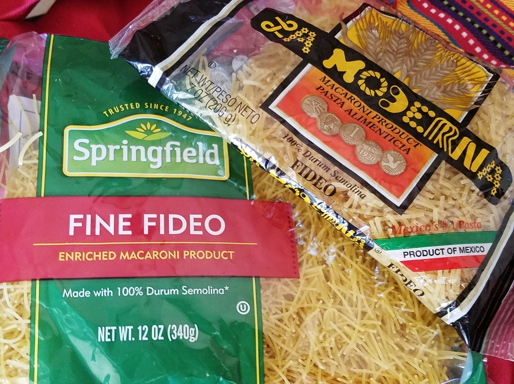 Fideo varieties