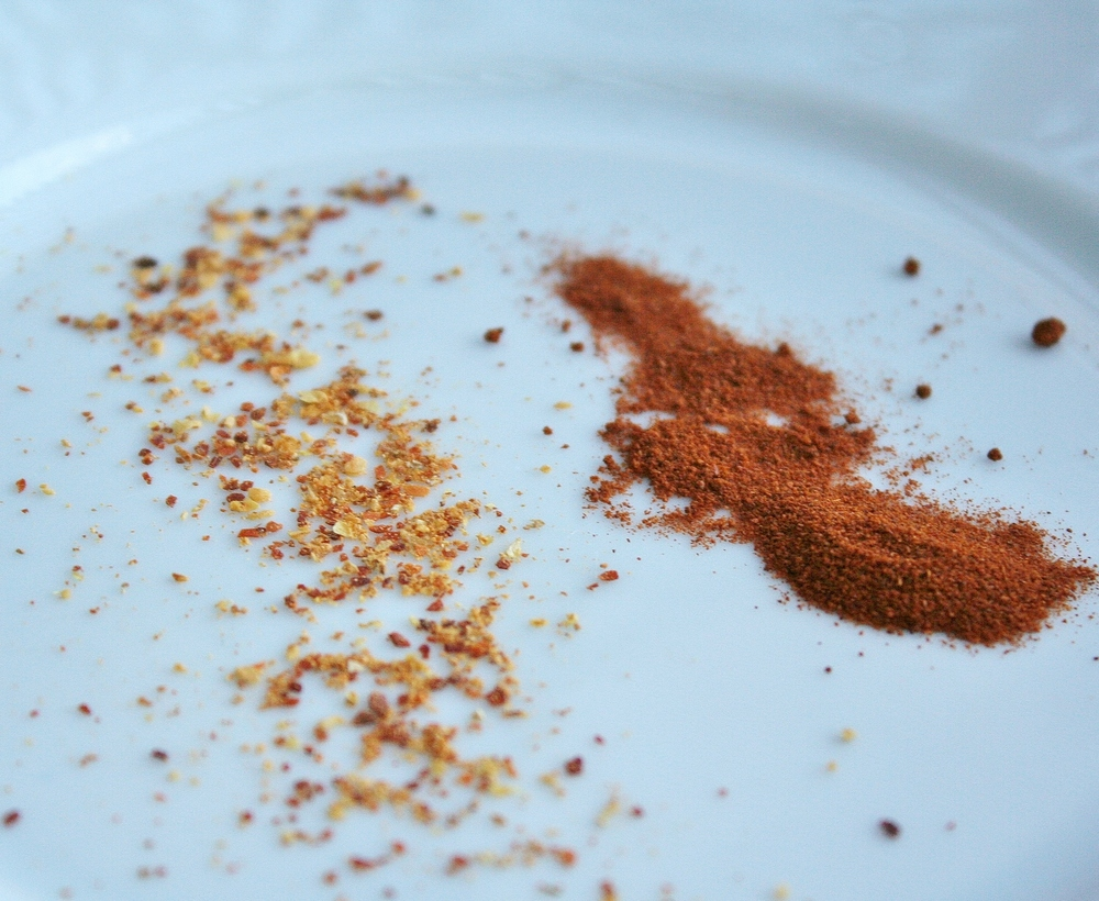 Spanish espelette pepper and smoked paprika