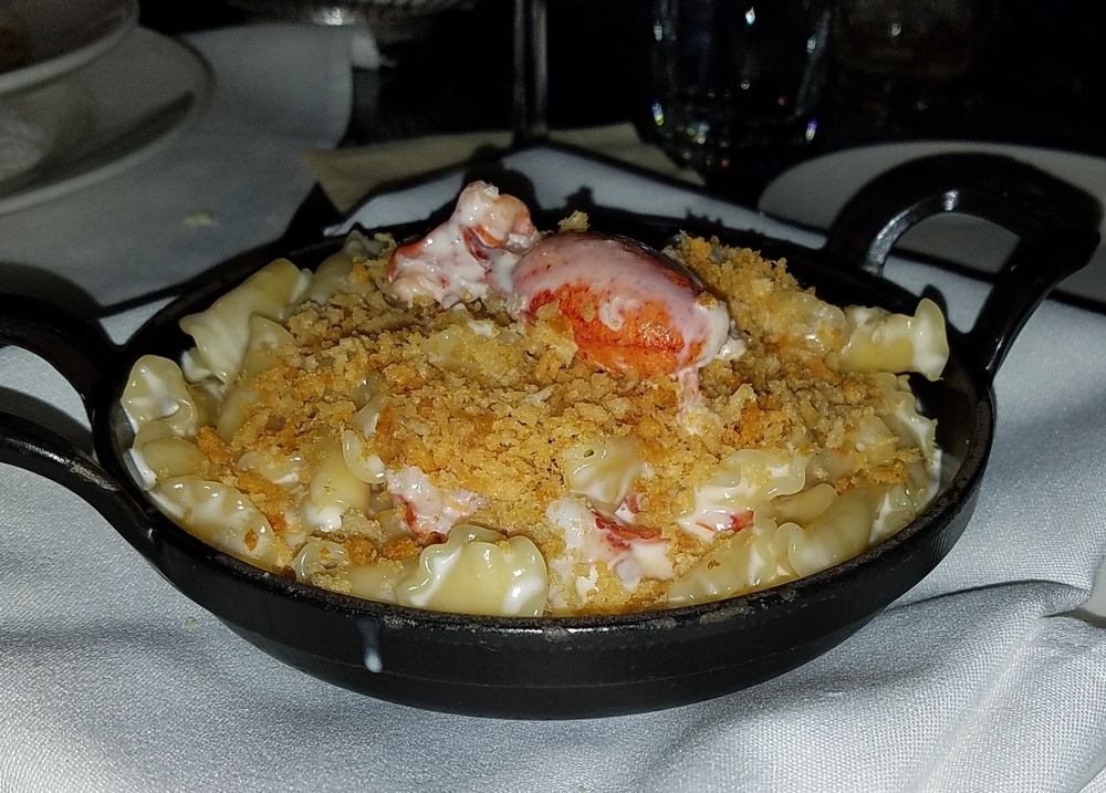 Lobster mac cheese Capital Grille