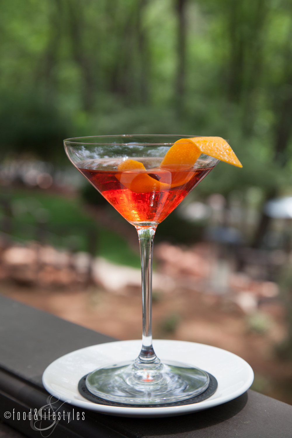 Negroni No. 9 at L'Auberge de Sedona