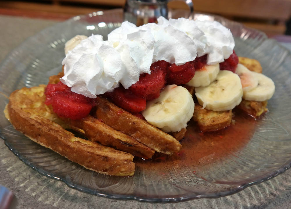 US Egg gluten-free french toast