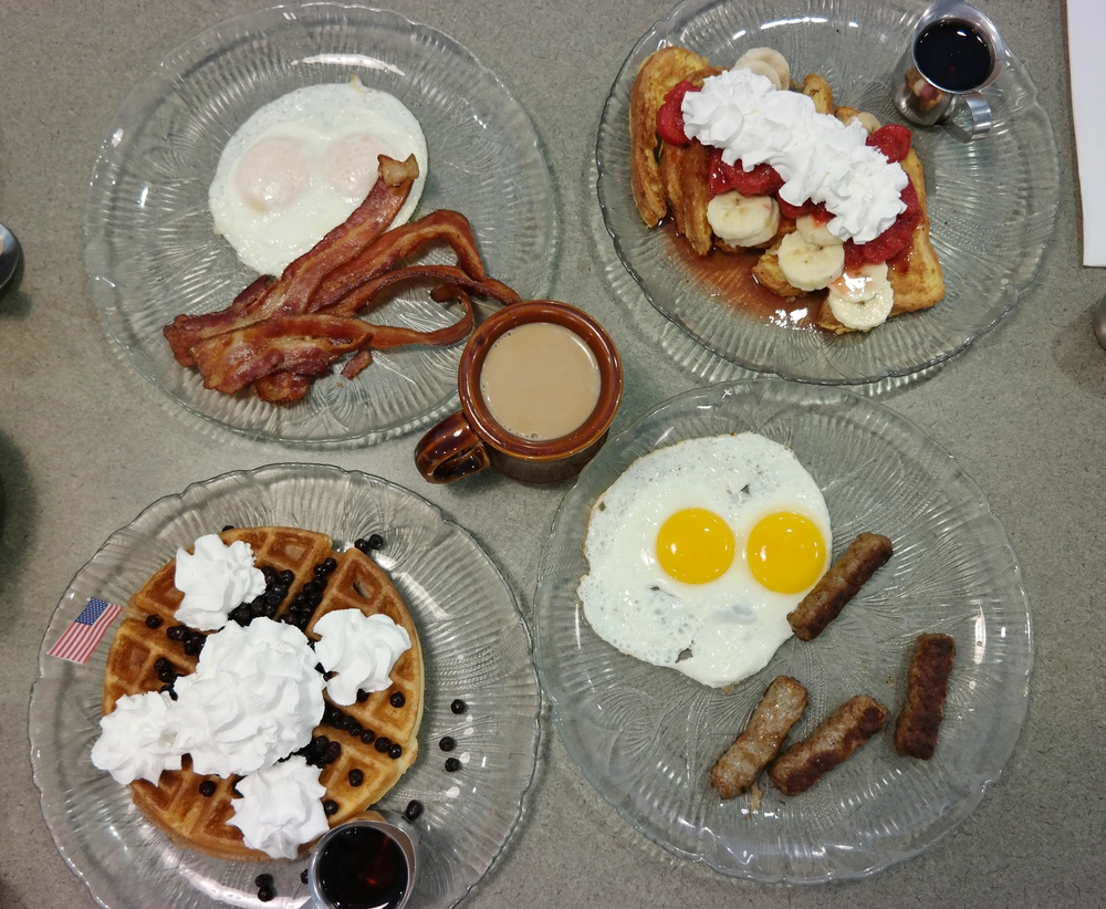US Egg gluten-free menu