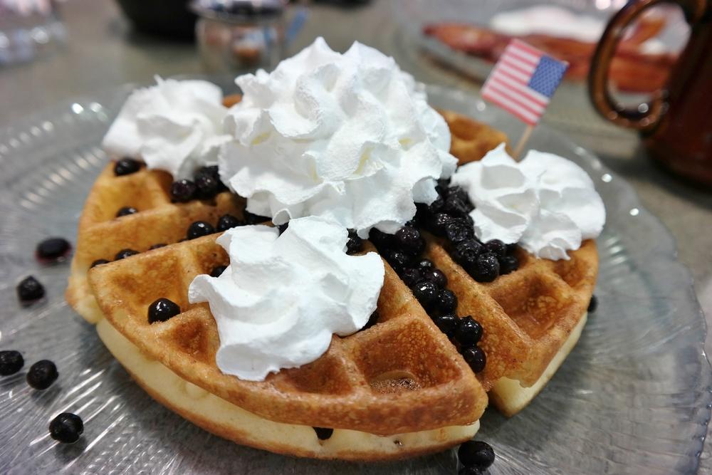 US Egg gluten-free waffle