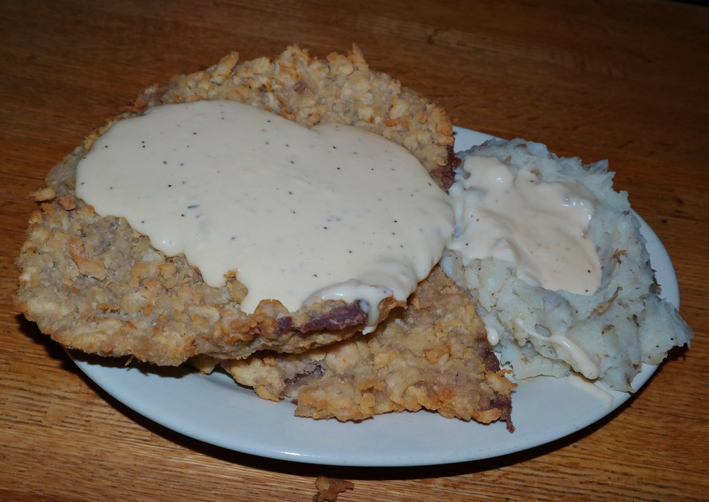 Chicken Fried Steak at TEXAZ Grill