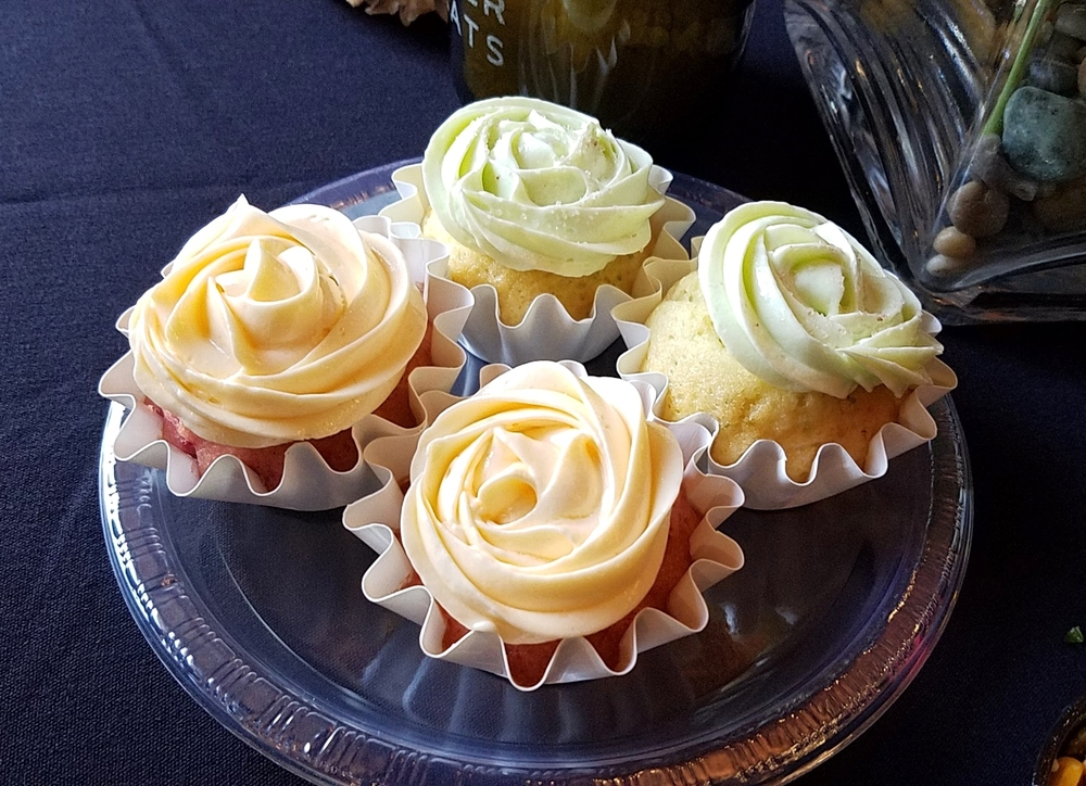 Tequila and Old Fashioned cupcakes
