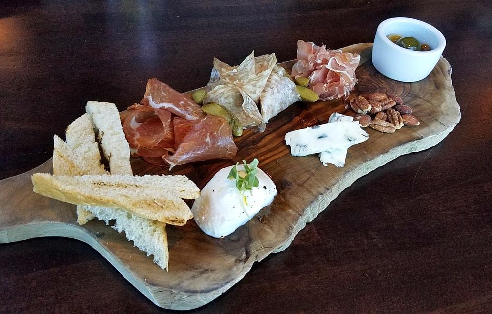 Parma Board: prosciutto, salami, coppa, buffalo mozzarella, gorgonzola dolce