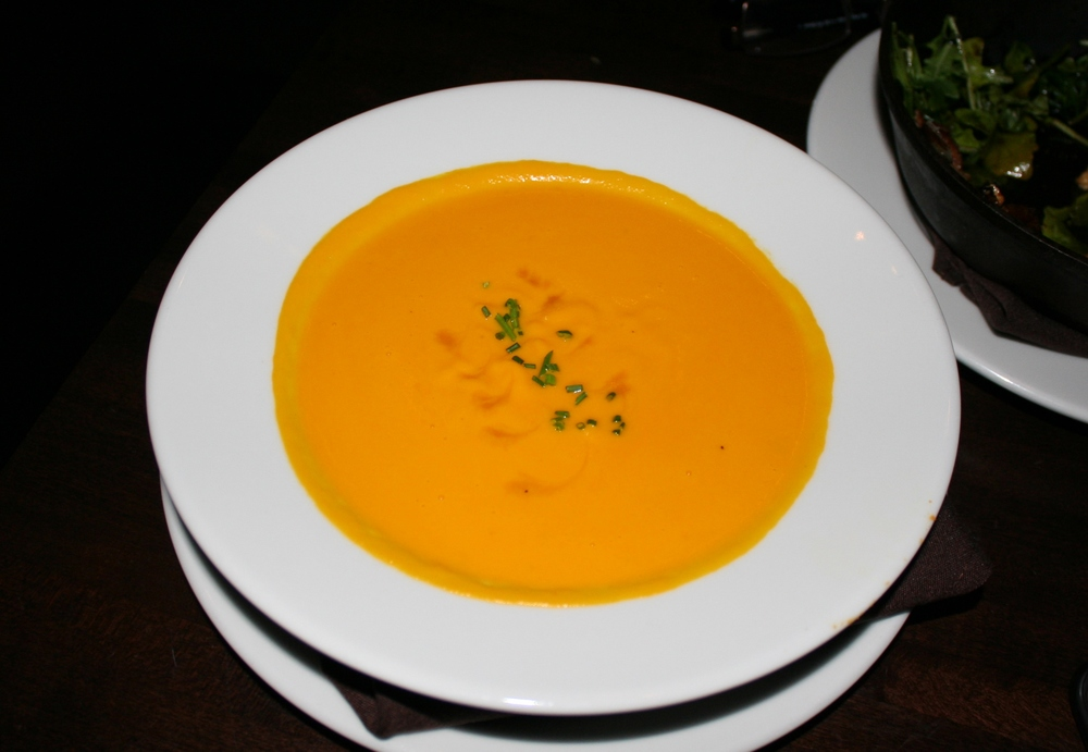 Creamy carrot bisque