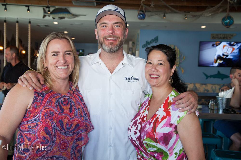 Rhonni Moffitt, Richie Moe, and me
