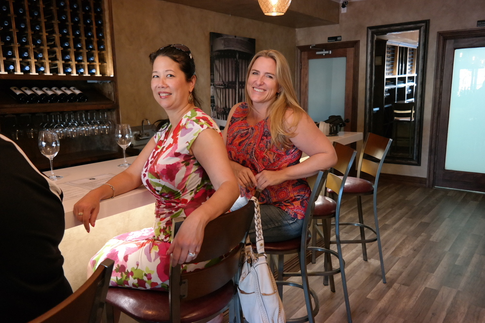 At Salvatore Vineyards With Rhonni Moffitt