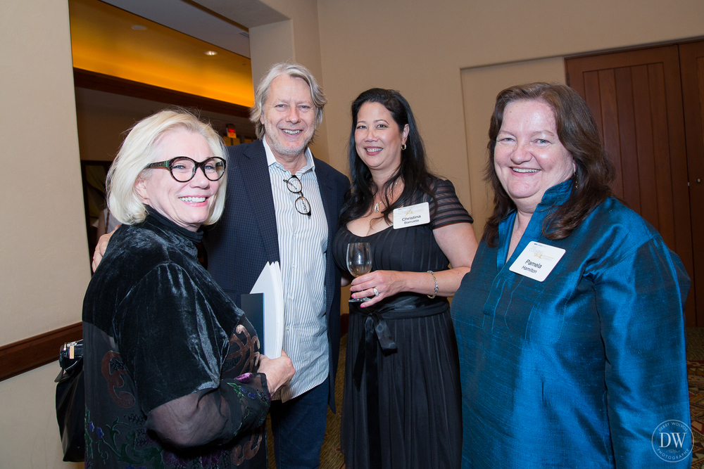 With Myra Fiori of illycaffè S.p.A., James Beard award-winner Chef Christopher Gross of Christopher's Restaurant and Crush Lounge, and Pamela Hamilton, founder and editor of Edible Phoenix.