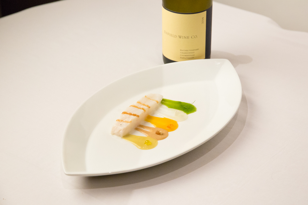 Halibut with California Flavors