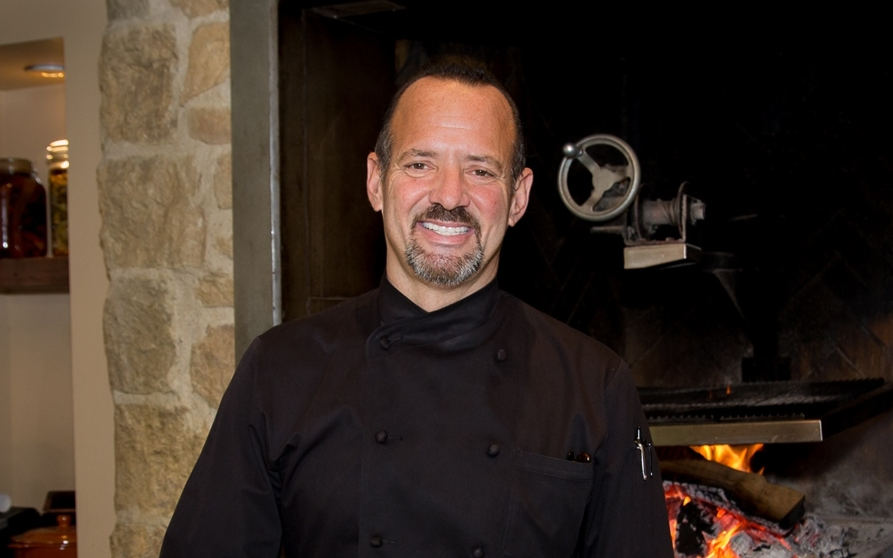 Chef Alex Stratta (photo by Debby Wolvos)