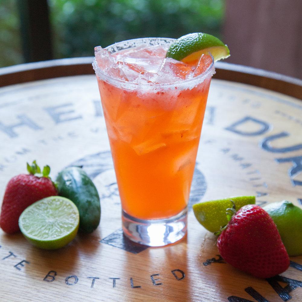 Strawberry-Jalapeño Margarita at the Westin Kierland