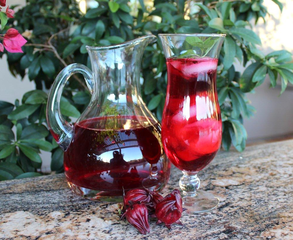 Hibiscus tea phoenix