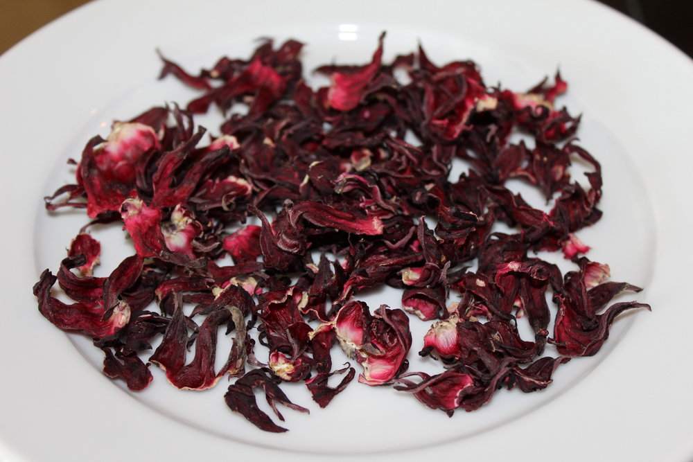 dried calyxes hibiscus roselle