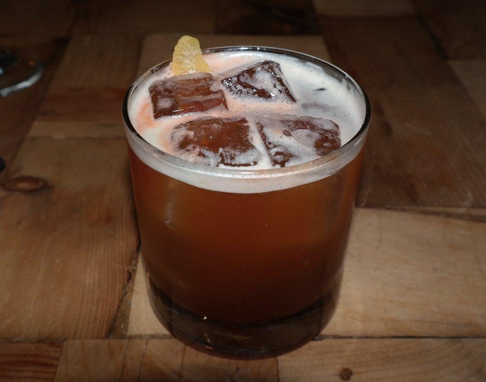 A Fernet Mai Tai nightcap.