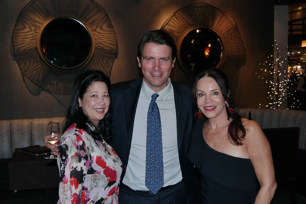Winemaker Salvatore Ferragamo and Chef Lisa Dahl