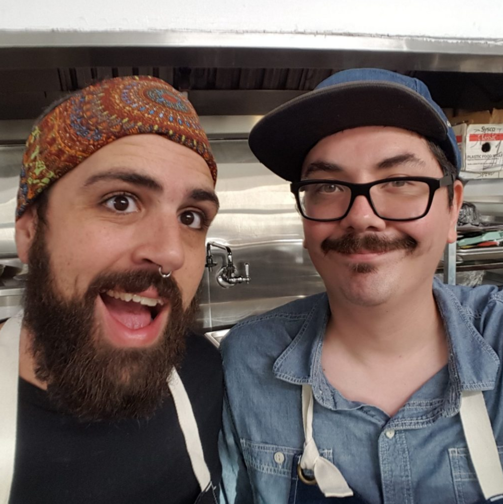 Chefs Clayton Craw and Michael Babcock