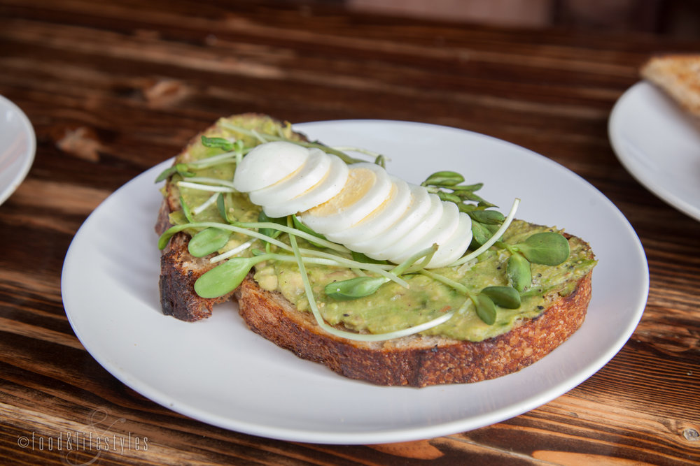 Avocado toast The Grand downtown Phoenix