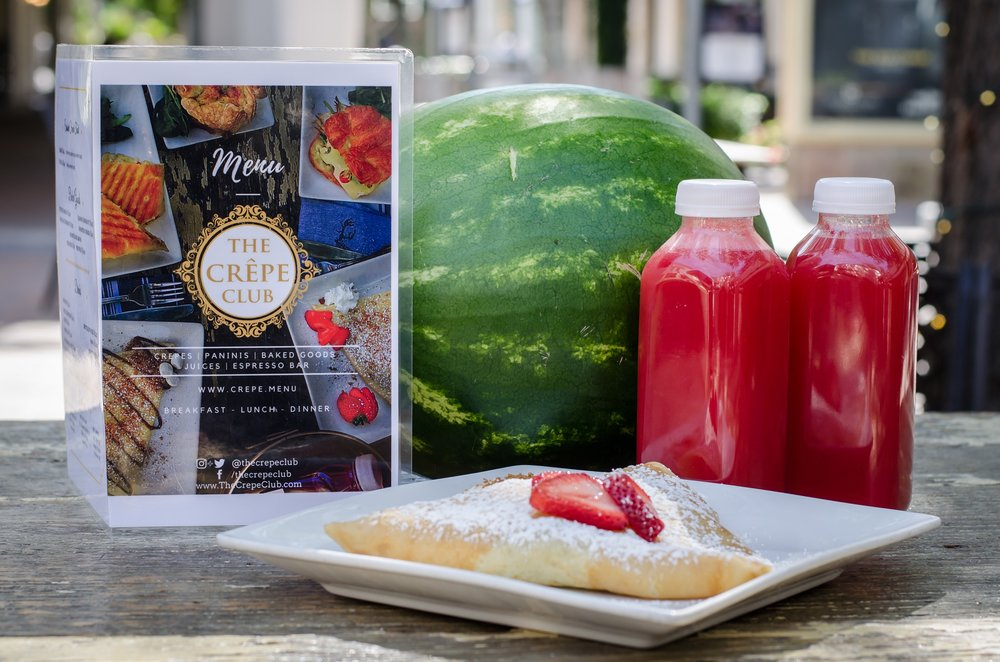 All summer long, The Crepe Club is offering half off their fresh-squeezed watermelon juice. Normally $5.00 for a 16-ounce bottle, the same juice will cost only $2.50! The promotion lasts Monday through Friday through September 4.  For more information on The Crepe Club, visit: https://www.thecrepeclub.com/