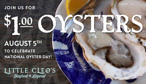 Little Cleo's $1 oysters