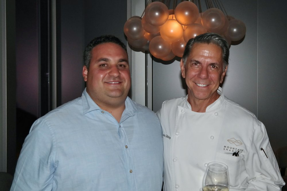 Jason Raducha and Chef Chuck Wiley