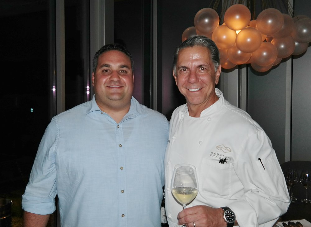 Jason Raducha and Chef Charles Wiley