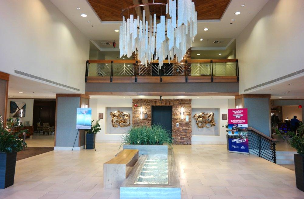 Sedona Hilton lobby