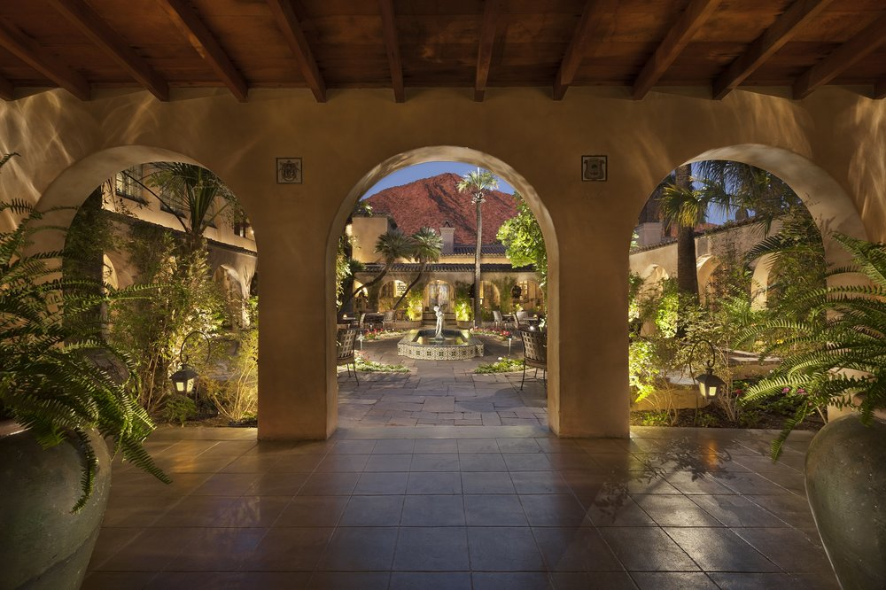 Royal Palms_ Mansion Courtyard (Evening).jpg