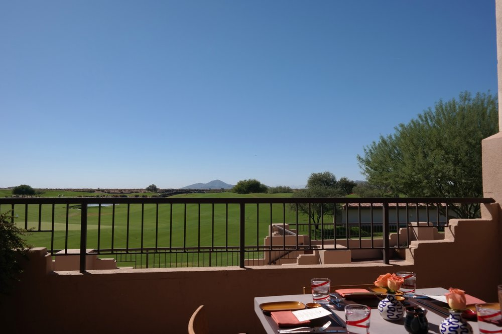 Toro Restaurant Scottsdale Princess views