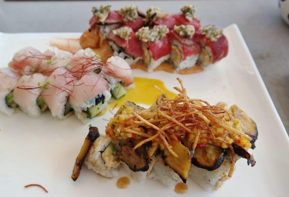 sushi rolls toro fairmont scottsdale