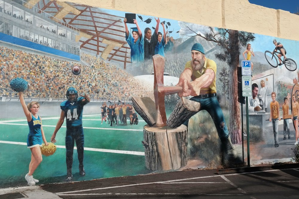 Flagstaff True Blue NAU mural.JPG
