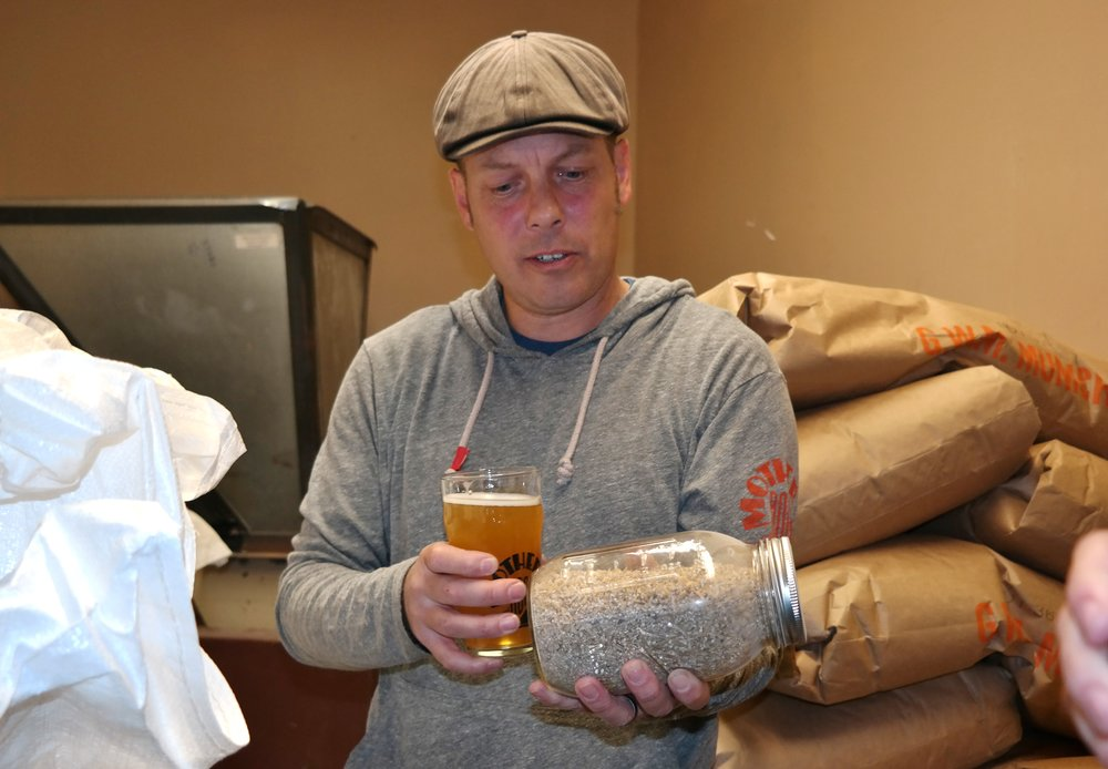Flagstaff Mother Road Brewery Owner Michael .JPG