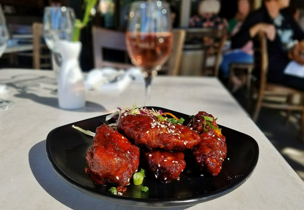 Eight Noodle Shop Korean Chicken Wings