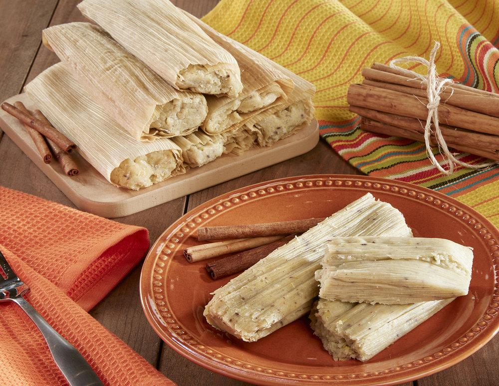Cinnamon tamales