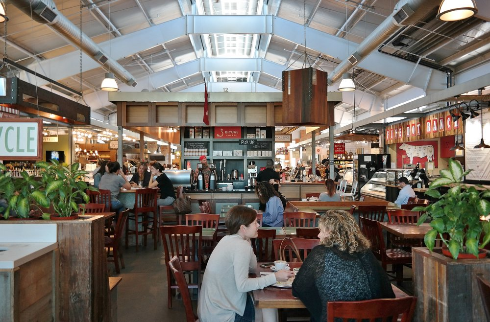 Ritual Coffee Roasters at Oxbow Public Market