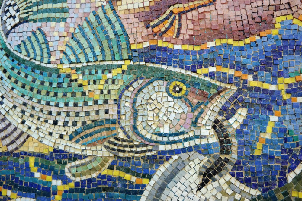 Mosaic Fountain Downtown Napap