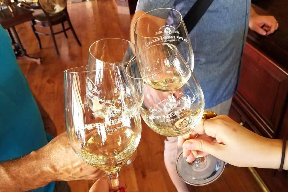 Cap Heritage Wine Tasting Room