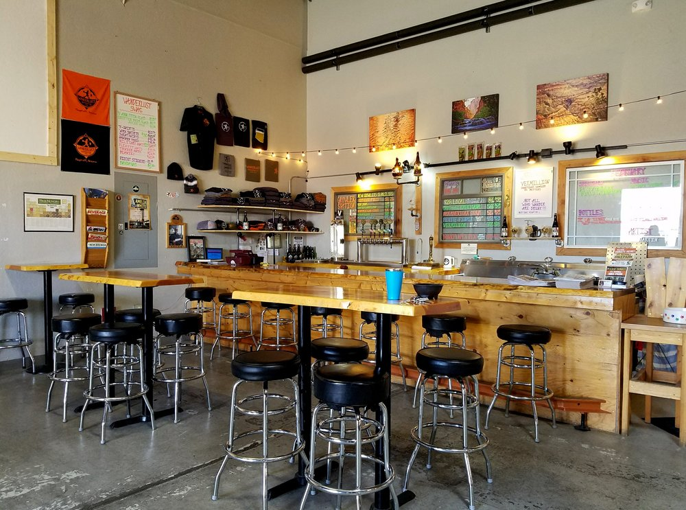 Wanderlust Brewing taproom