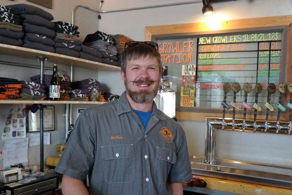 Nathan Friedman, founder of Wanderlust Brewing Company