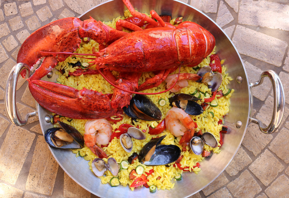 Maine Lobster Paella for Two