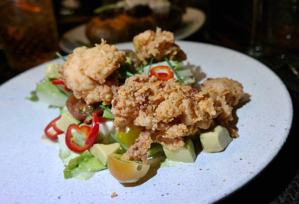 Fried lobster salad Lincoln Camelback Inn