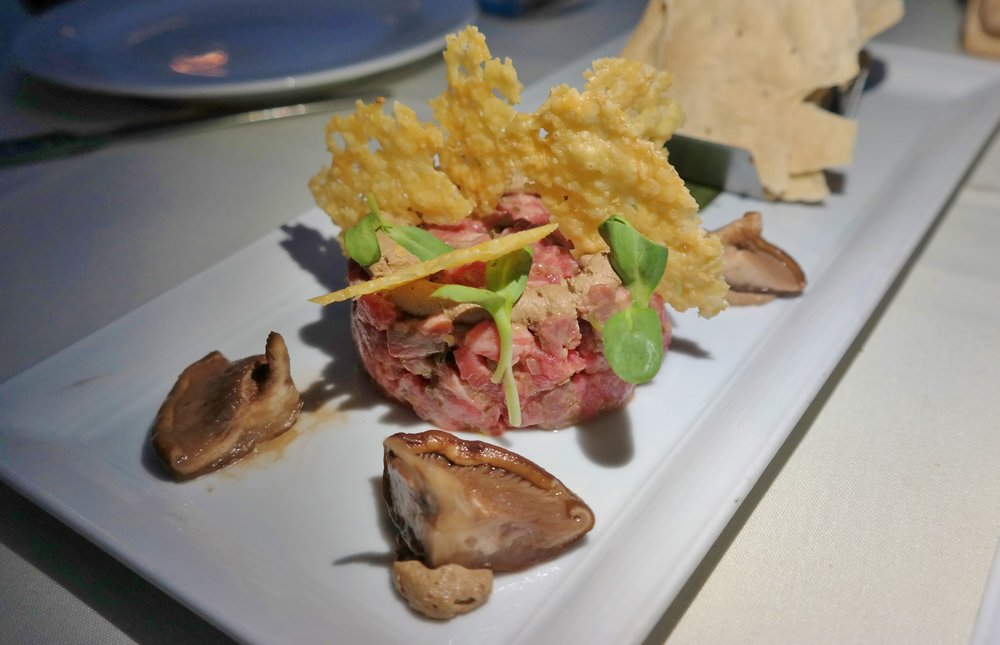Rovey Dairy steak tartare