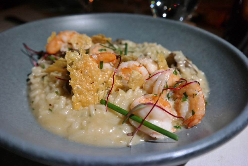 Shrimp risotto Lon's Hermosa
