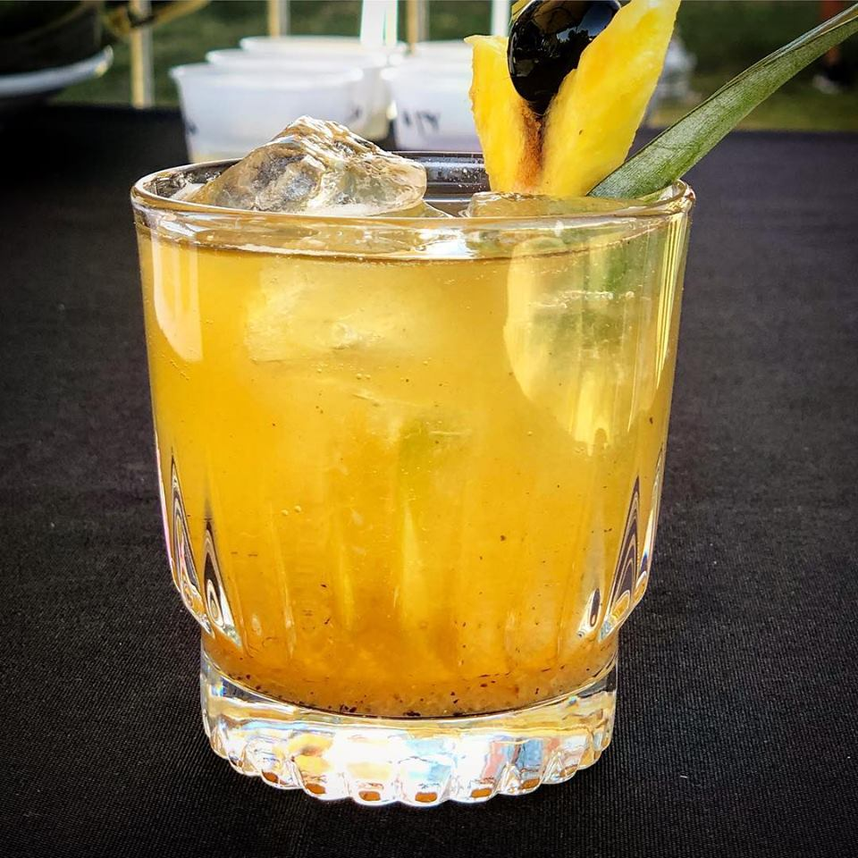 The winning cocktail - Piña Mescalito