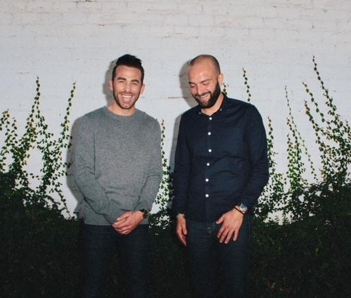 Nicholas Campisano and Joshua James